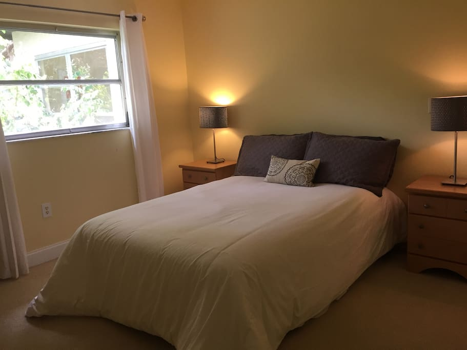 Your private bedroom with double bed
