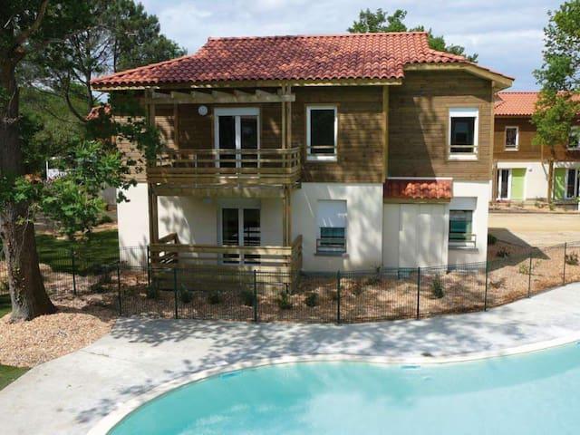 2 pièces dans résidence touristique - Aureilhan - Apartament