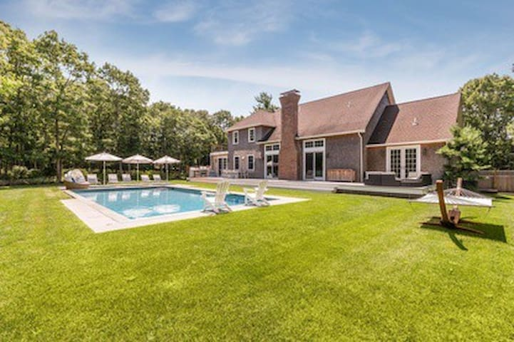 Like new Hamptons Dream House on  private property