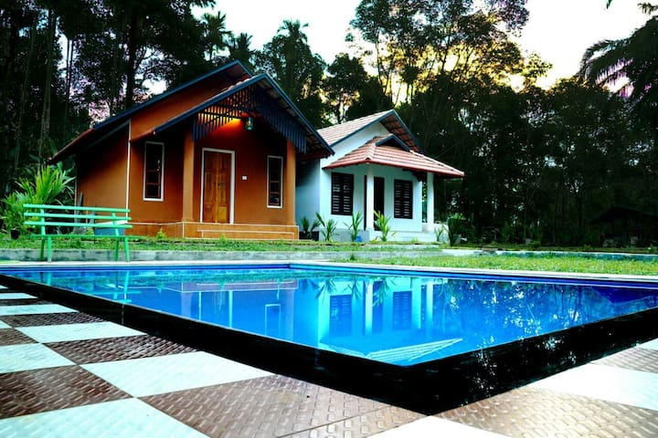 River view cottage.. with pool