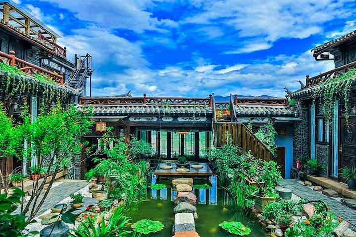 剑川县沙溪古镇茶马古道度假家庭房