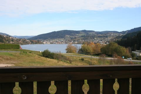 Appartement F2 avec très belle vue sur le lac