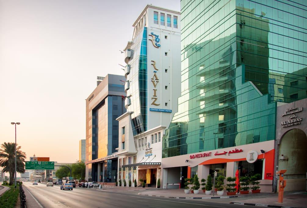 External Facade of Building