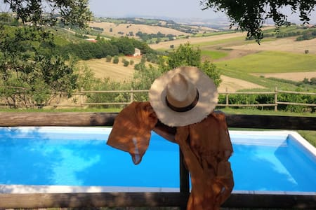 Villa Country House in Le Marche-Appartment Paola - Morro d'Alba - Apartment