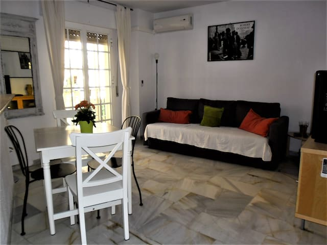 Lovely  apartment 60 mt. from the sea wifi