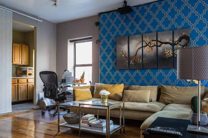 Bright, Very Spacious, & Quiet Room in Manhattan