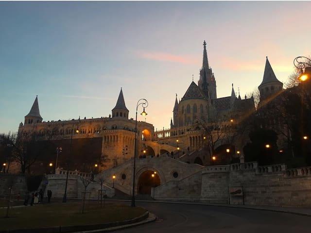 Budapest visit:  Buda Apartman