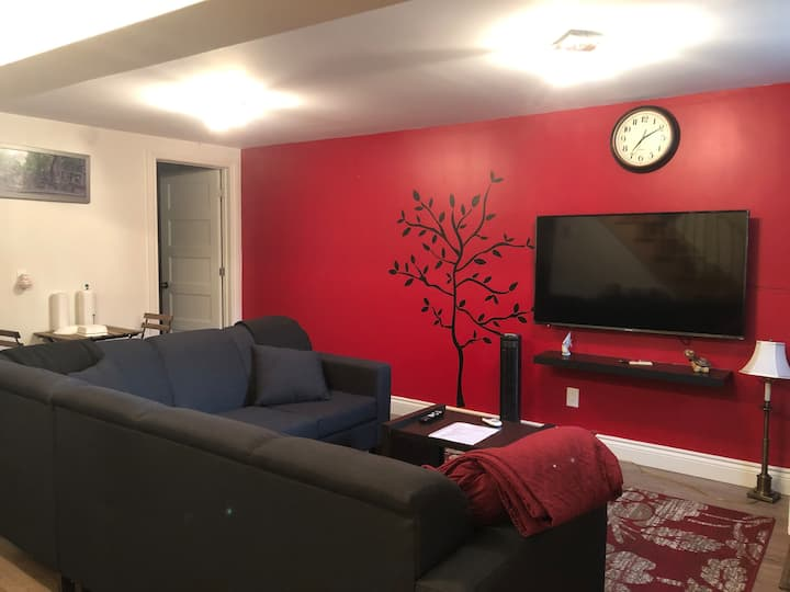 Fully Renovated Basement Apartment+Private Parking