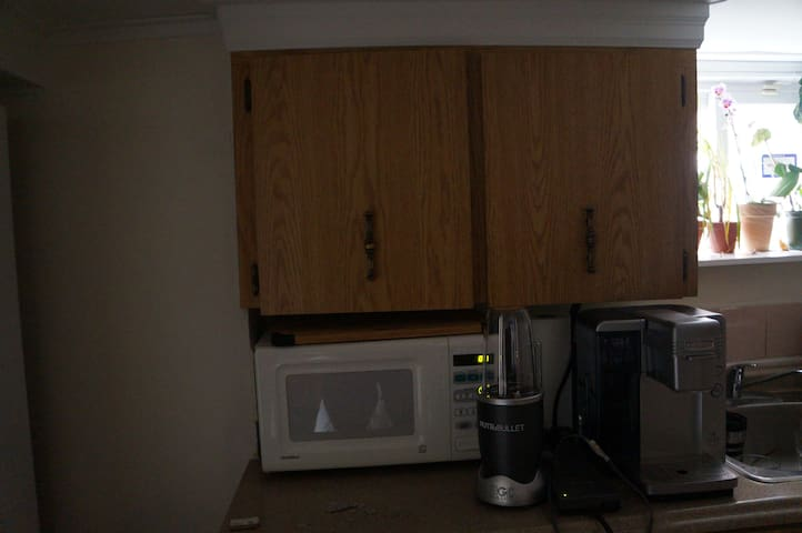 Basement near transit with kitchen