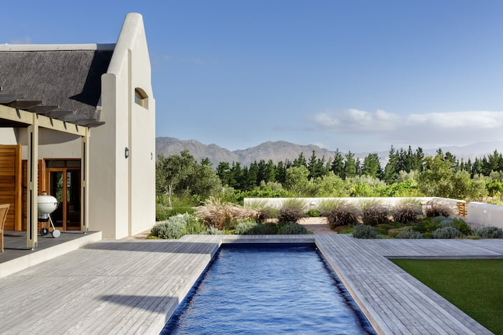 Villa in the Vineyard near Somerset West