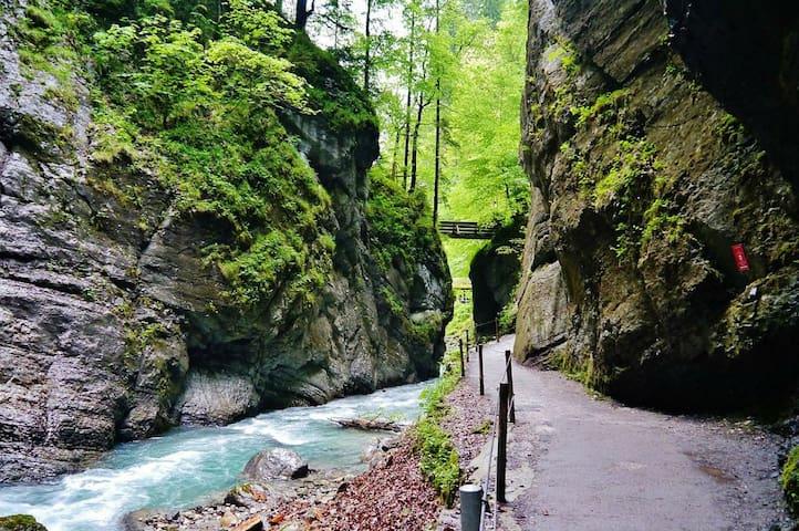 Gemütliche FeWohnung in Werdenfelser Bergregion