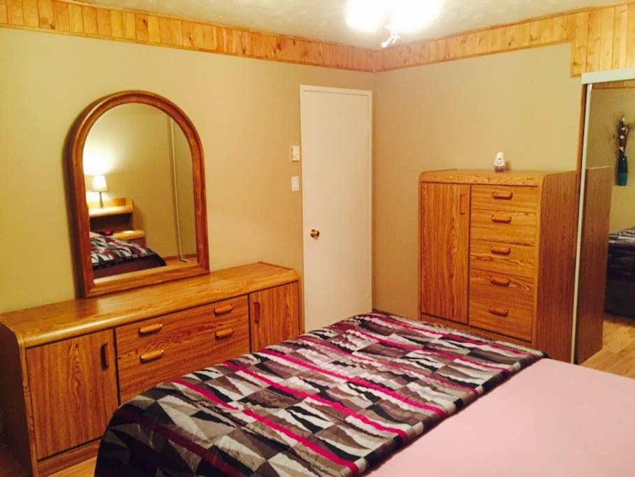 MasterBedroom with Dresser and Chest of Drawers.