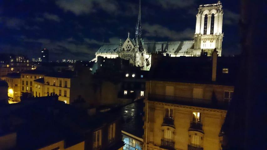 Ile de la Cité, dernier étage vue imprenable Paris - Paris - Apartamento