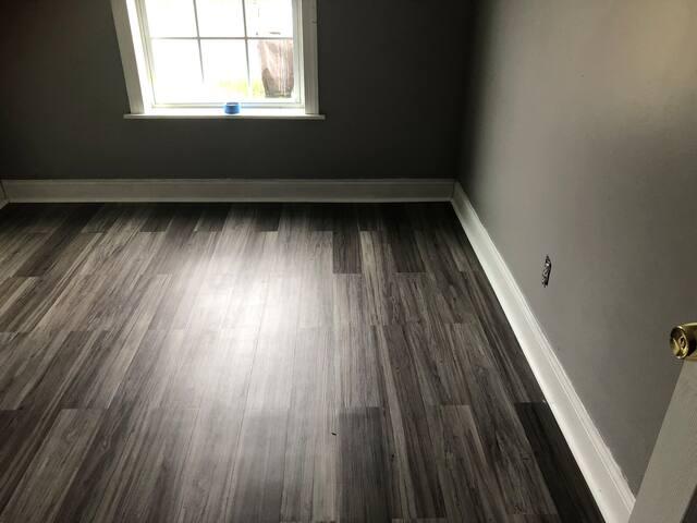 Just finished basement bedroom & private bathroom