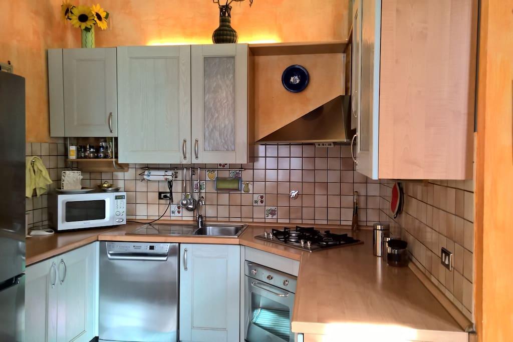 Kitchen corner Angolo cottura