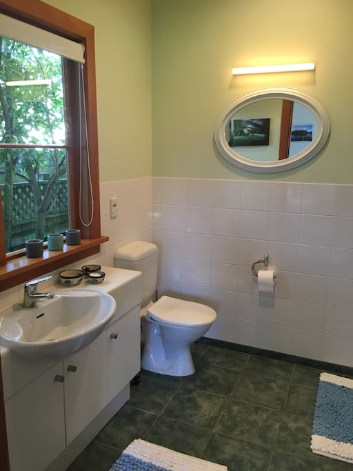 Private ensuite with shower