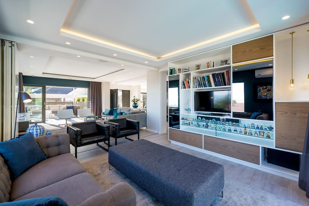 TV room next to entrance hall - an alternative view