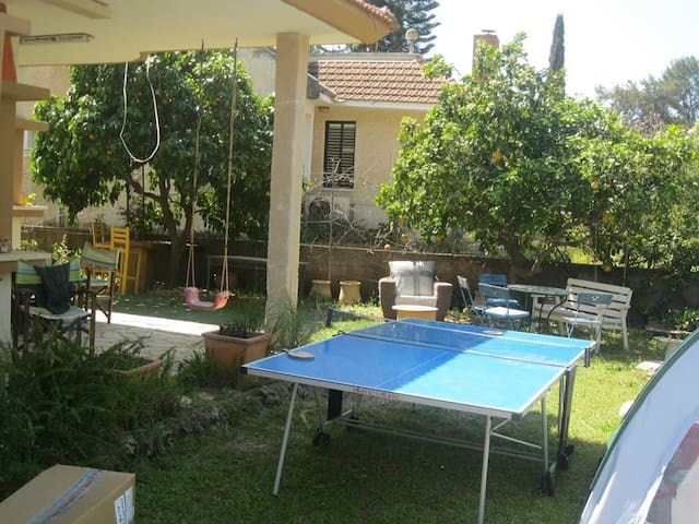 Great villa & pool 10 min from Netanya beach