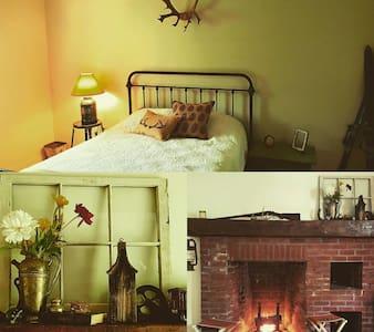 Luxury Camping-Cozy Adirondack Cabin - Corinth - Chalet