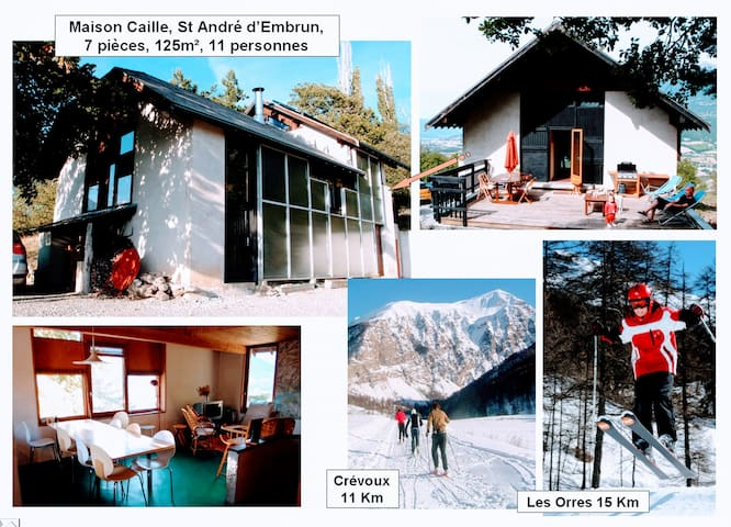 Large villa in FrenchAlps, 7 rooms,12 people