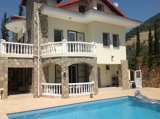 Erin villa Uzumlu Turkey.