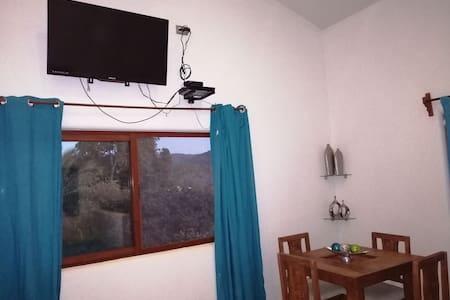 Habitación estudio #3 en casa Antonia.