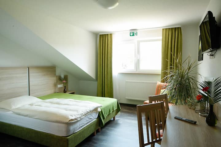 Doppelzimmer @ Landhotel Wirtshaus am Treidelpfad