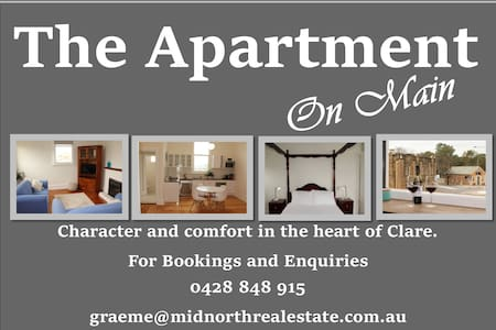 The Apartment on Main - Clare