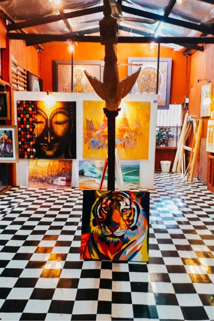 Tour of Artists Studios