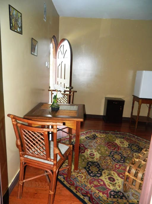 Entrance and Lounge Area