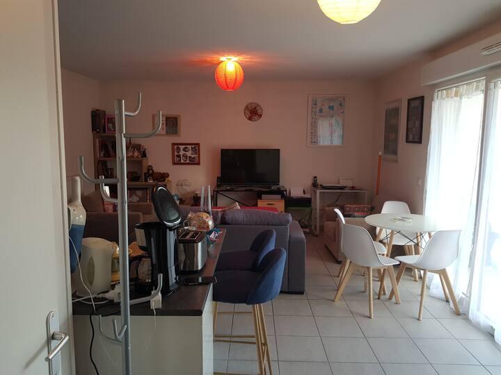 Location  appartement   dans résidence  privée
