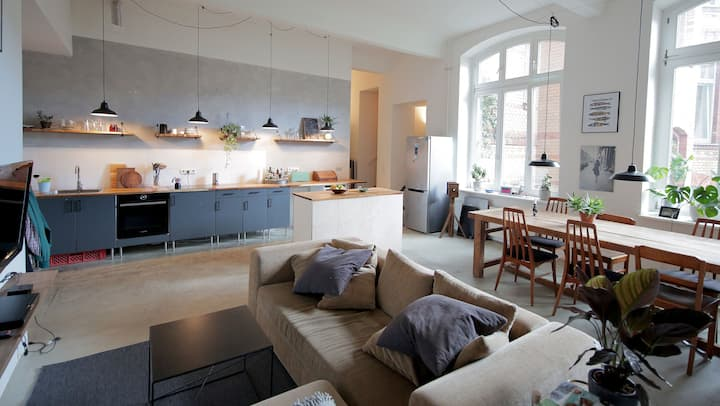 Spacious Loft with open kitchen - SPOK