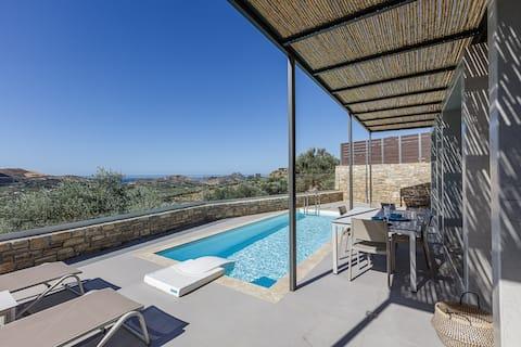 Aphrodite 2-New 1 bedroom villa near many beaches