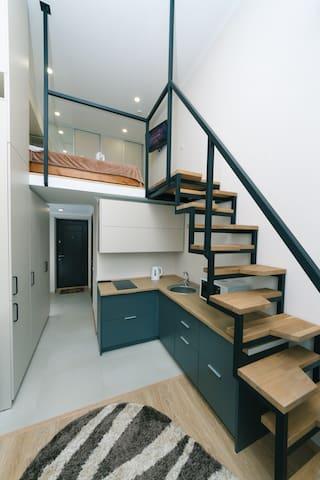 Ola La двухуровневые апартаменты