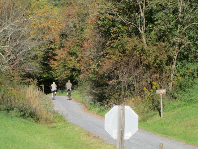 Cycle the Virginia Creeper Trail