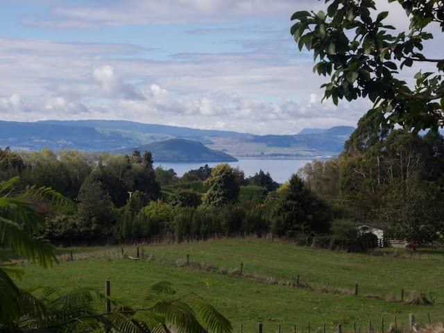 Rotorua Shearers' Retreat Farmstay close to town - Hamurana - Flat