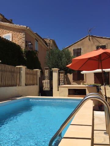 Maison en Provence avec piscine - Saint-Roman-de-Malegarde - Rumah