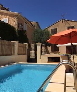 Maison en Provence avec piscine - Saint-Roman-de-Malegarde