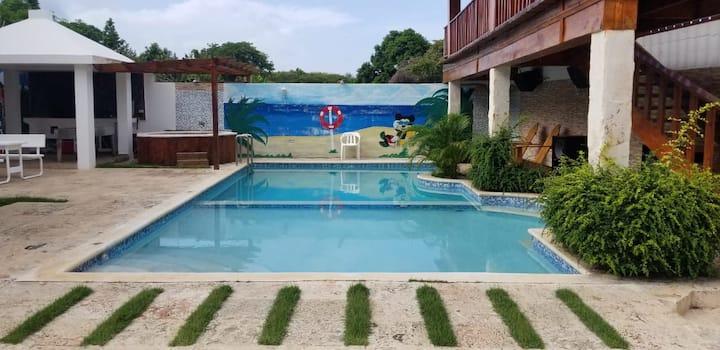 Hermosa Villa para descansar y pasarla bien.