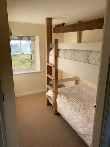 Bunk room with river view