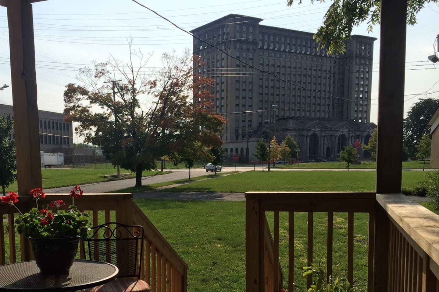 Enjoy the best view in the city from the private back deck of this newly renovated apartment!