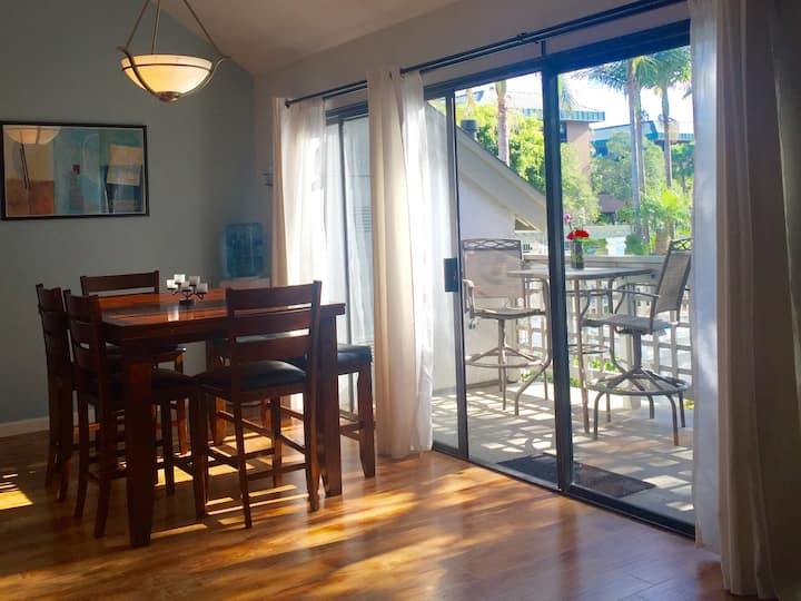 Completely Remodeled!! Blocks to Racetrack & Beach