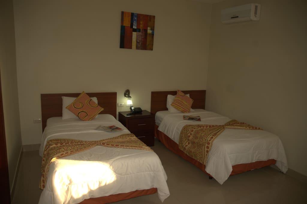 2 camas twin
