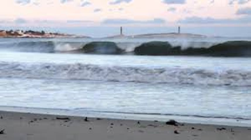 Long Beach surf after storm