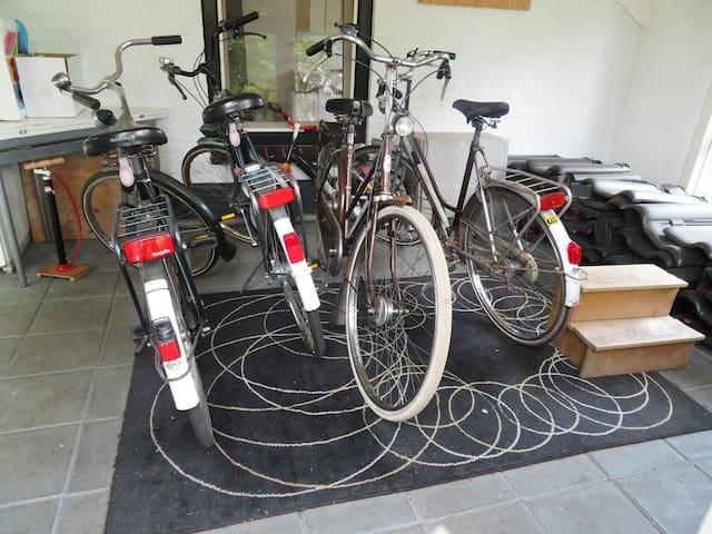 Leen fietsen