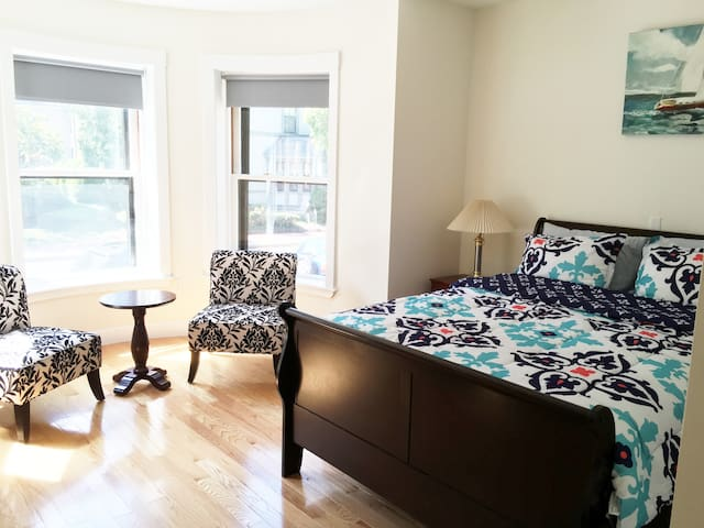 Brand-New Master Suite Next To Harvard Square - Cambridge - Daire