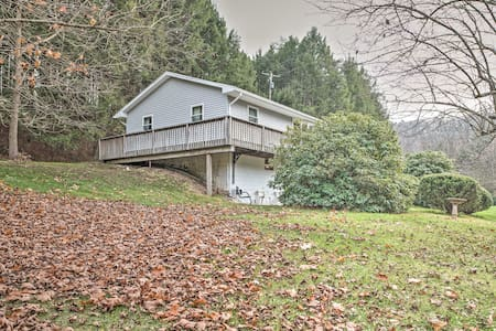 Lovely 3BR Catawissa House on 10 Acres! - Catawissa