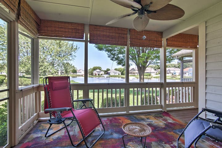 NEW! Lakefront Lewes Home 15-20 Min to 4 Beaches!