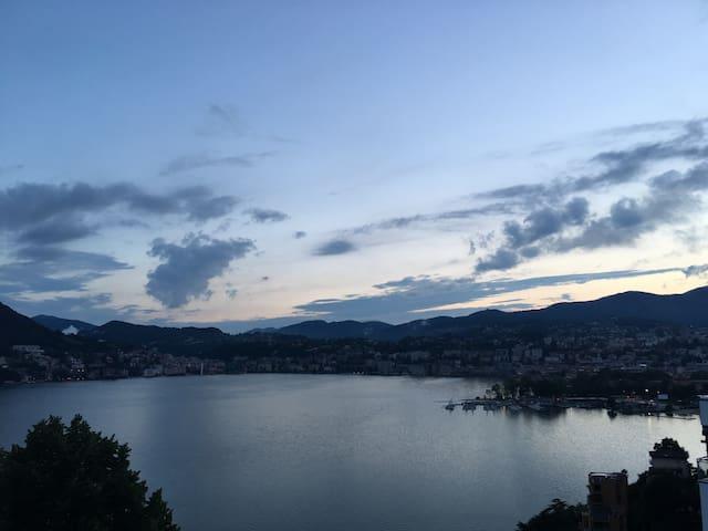 Stanza Lugano a 500 m dal lago - Lugano - Wohnung