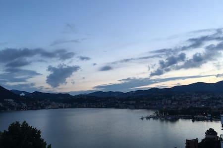 Stanza Lugano a 500 m dal lago - Lugano - アパート